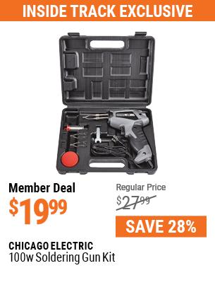 100 Watt Soldering Gun Kit