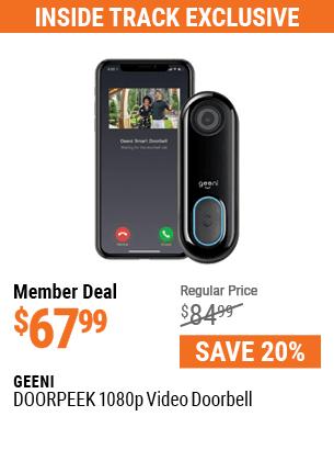 DOORPEEK 1080p Video Doorbell