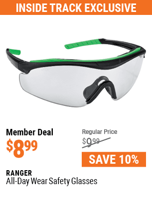 All-Day Wear Safety Glasses