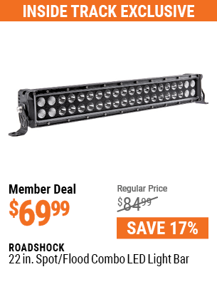 22 in. Spot/Flood Combo LED Light Bar