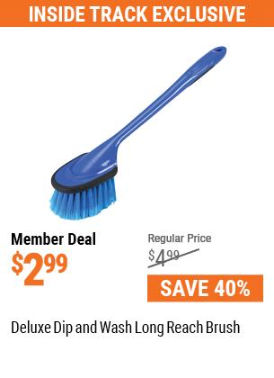 Deluxe Dip & Wash Long Reach Brush