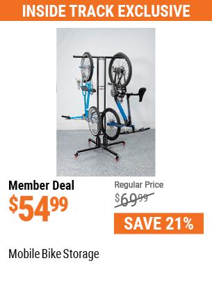 Mobile bike storage