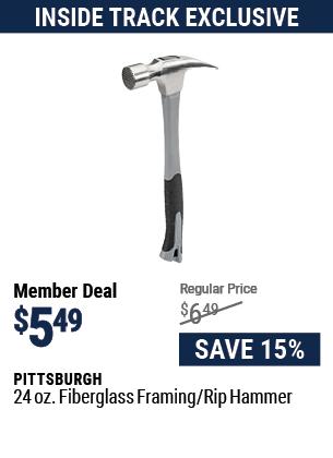 24 oz. Fiberglass Framing/Rip Hammer