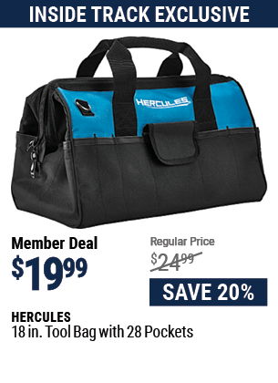 18 in. Tool Bag with 28 Pockets