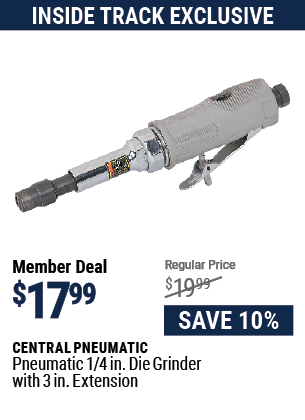 Pneumatic 1/4 in. Die Grinder with 3 In Extension