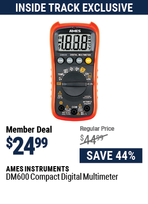 DM600 Compact Digital Multimeter