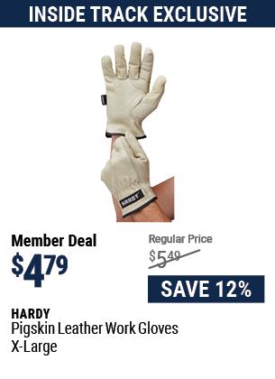 Pigskin Leather Work Gloves X-Large