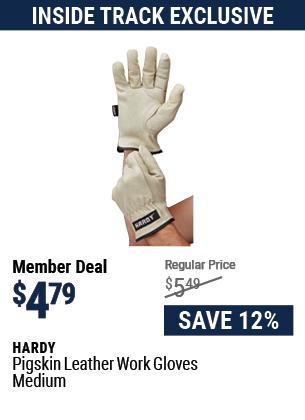 Pigskin Leather Work Gloves Medium