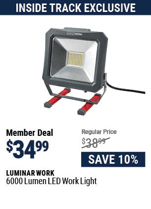 6000 Lumen LED Work Light