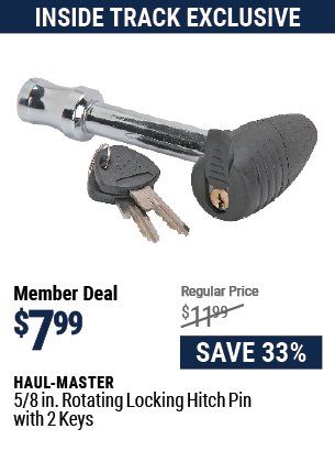 5/8 in. Rotating Locking Hitch Pin with 2 Keys