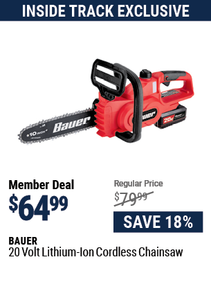 20v Lithium-Ion Cordless Chainsaw – Tool Only