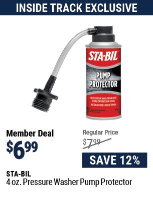 4 oz. Pressure Washer Pump Protector