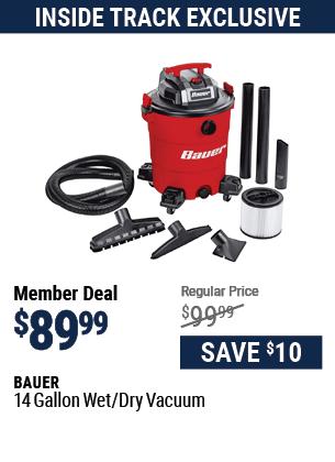 14 Gallon Wet/Dry Vacuum