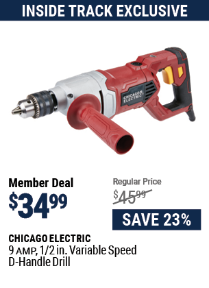 9 Amp 1/2 in. Variable Speed D-Handle Drill
