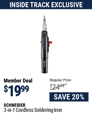 3-in-1 Cordless Soldering Iron