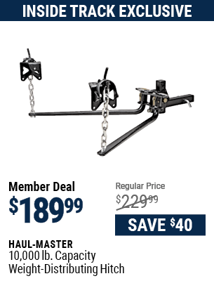 10,000 lb. Capacity Weight-Distributing Hitch