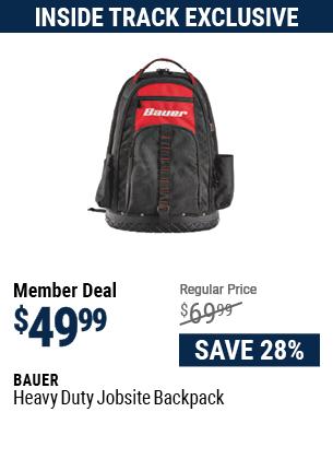 Heavy Duty Jobsite Backpack