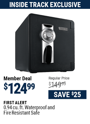0.94 cu. ft. Waterproof and Fire Resistant Safe