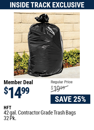 42 gal. Contractor Grade Trash Bags, 32 Pk.
