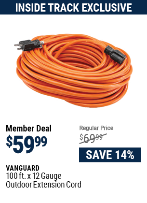 100 ft. x 12 Gauge Outdoor Extension Cord