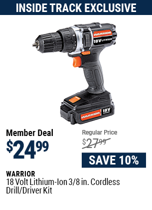 18v Lithium-Ion 3/8 in. Cordless Drill/Driver Kit