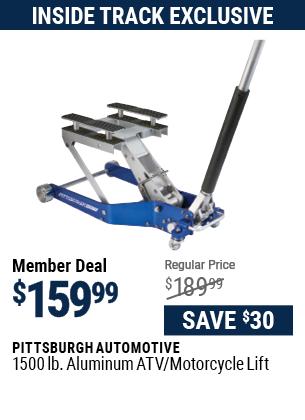 1500 lb. Aluminum ATV / Motorcycle Lift