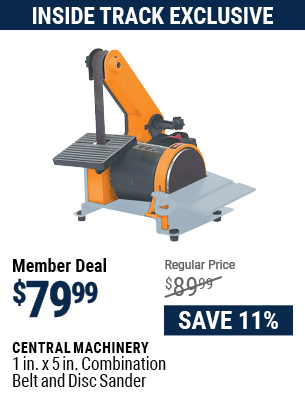 1 in. x 5 in. Combination Belt and Disc Sander