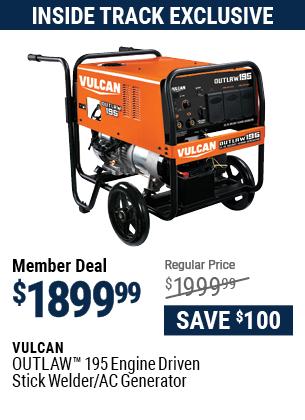 OUTLAW™ 195 Engine Driven Stick Welder / AC Generator