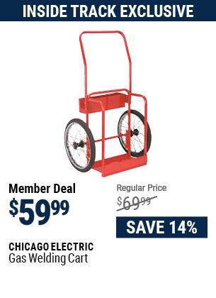 Gas Welding Cart
