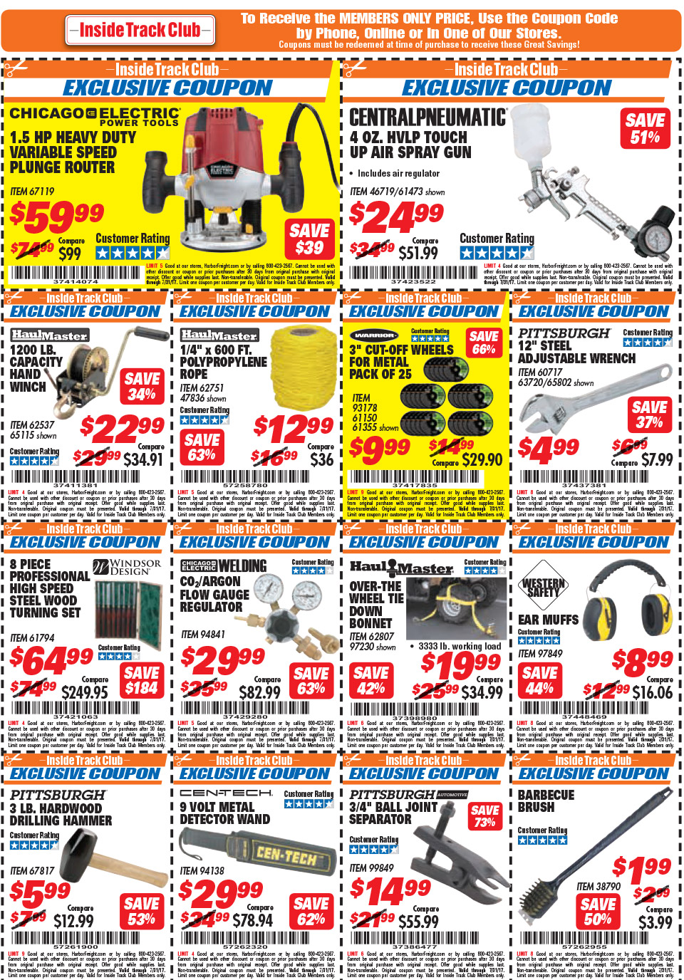 Harbor Freight Coupon Thread Archive Page 38 The Garage As Well Led Trailer Light Kit On Wiring Journal Board
