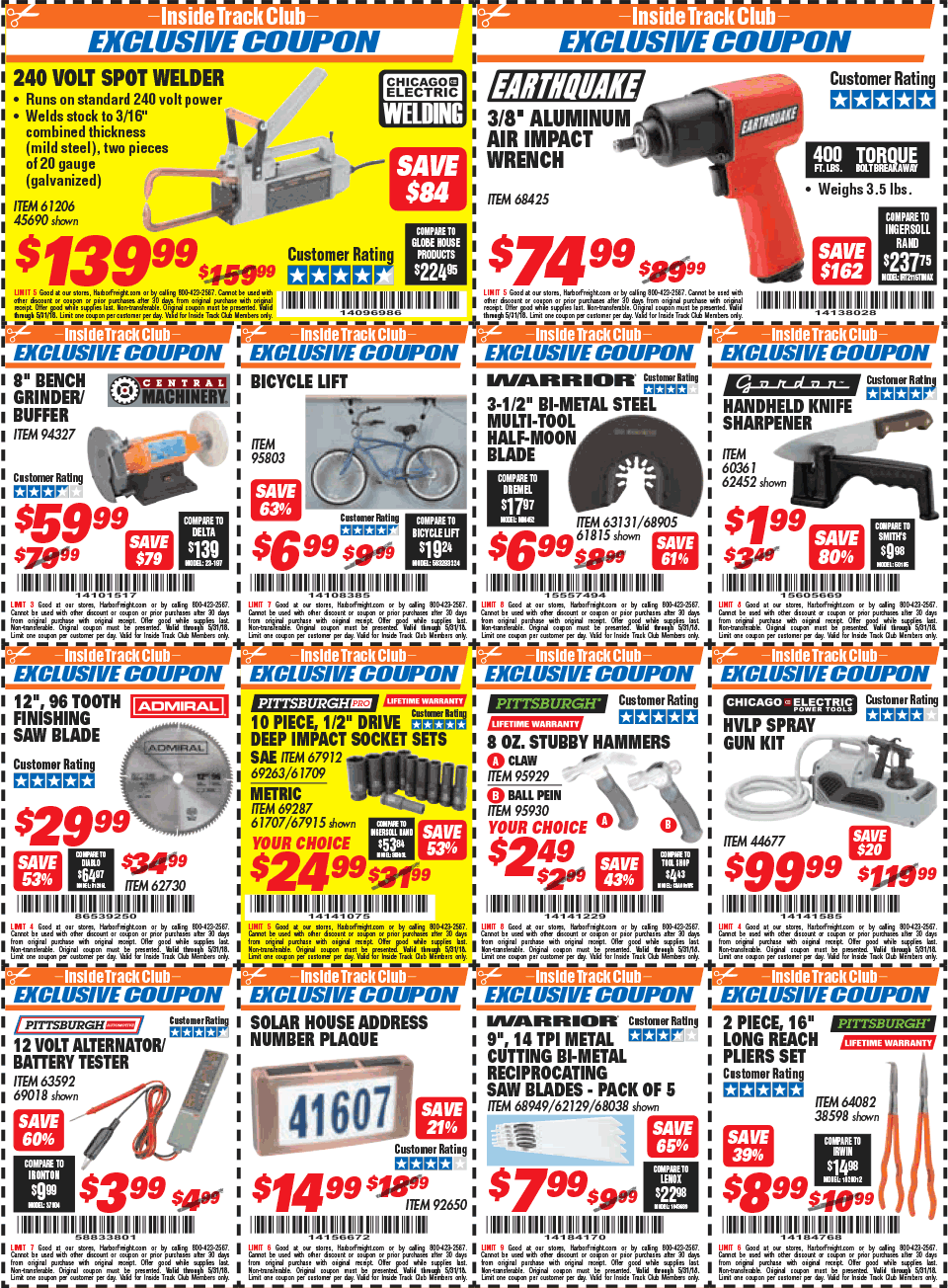 Harbor Freight Coupons, Promo Codes, Deals 2018 - CouponShy