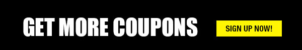 Sign up to get more coupons