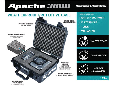 New Items - Watertight Protective Case - Large