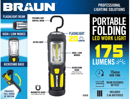 New Items - Braun Worklight