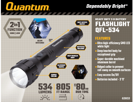 New Items - Quantum Flashlight