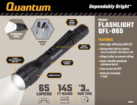 New Items - Quantum Flashlight QFL-065