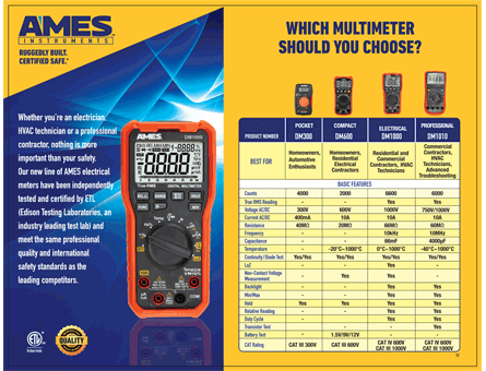New Items - Compact Digital Multimeter