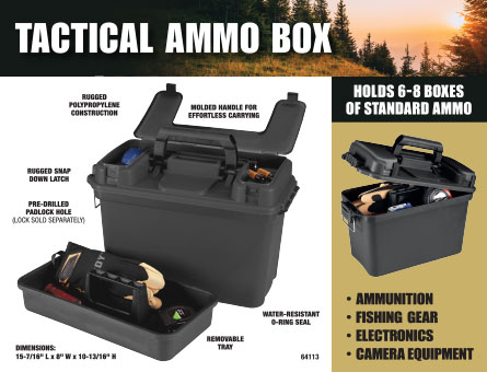 New Items - Tactical Ammo Box