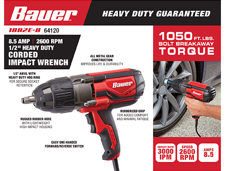 New Items - Impact wrench