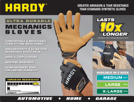 New Items - Ultra Durable Mechanic's Gloves