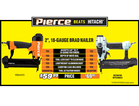 New Items - Pierce Nailer