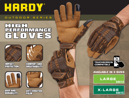 New Items - High performance gloves
