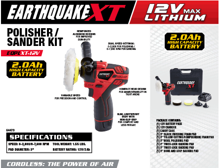 New Items - Earthquake XT