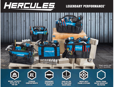 New Items - Hercules Totes Family