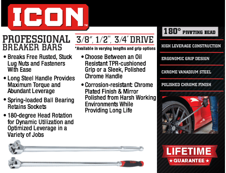 New Items - Icon Professional Breaker Bars