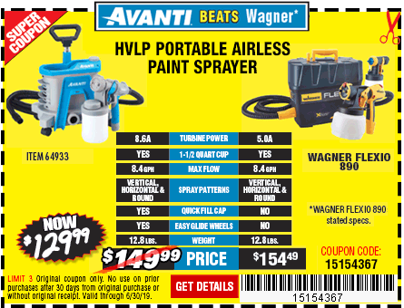 New Items - Portable Airless Paint Sprayer