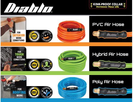 New Items - Diablo hoses