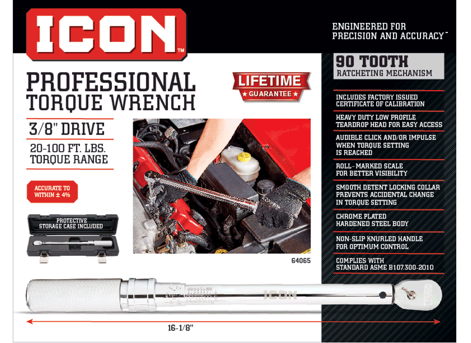 New Items - Professional Click Type Torque Wrench