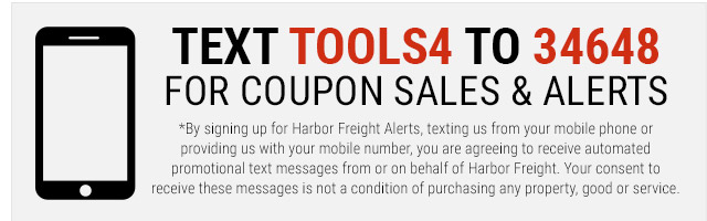 Text us to receive coupons and sales alerts