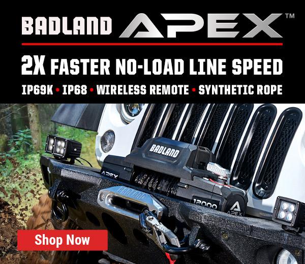 Apex Badland Winch